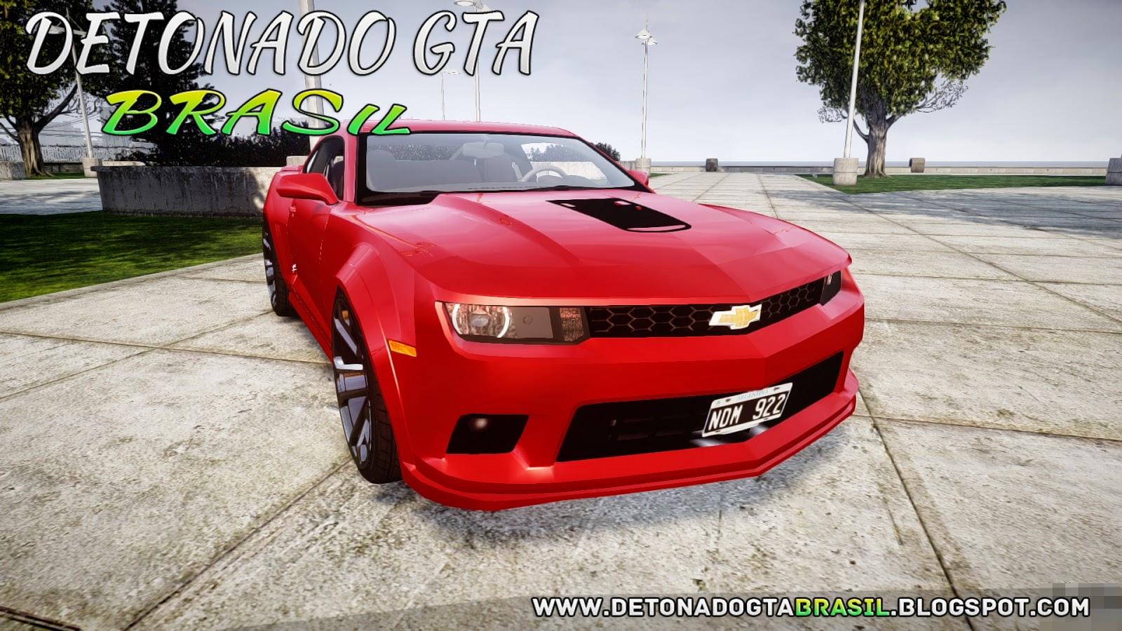 GTA IV - Chevrolet Camaro Z28 2014