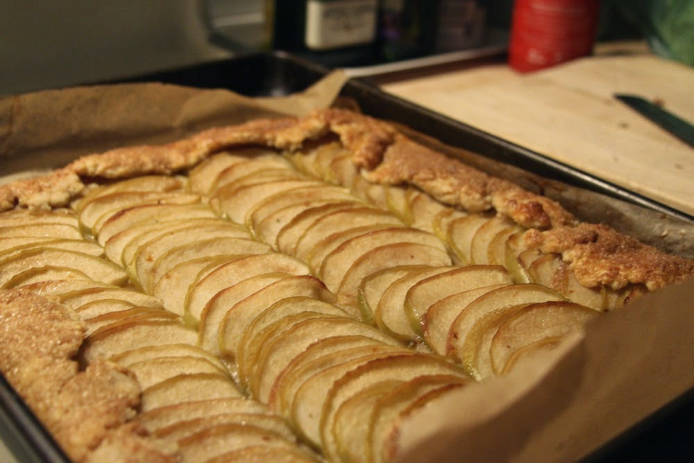 Salted Butter Apple Galette