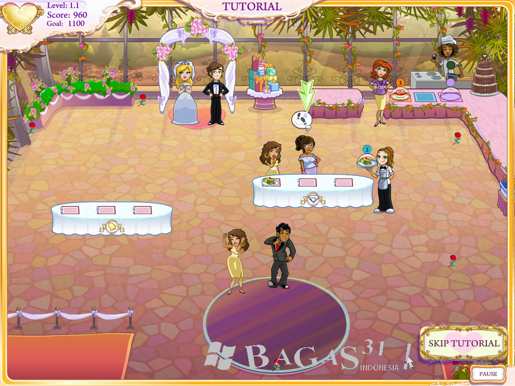 Wedding Dash 4 Ever Final Portable Edition - BAGAS31.com
