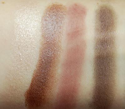 Illamasqua Complement Palette Swatches