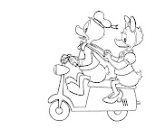 #25 Donald Duck Coloring Page