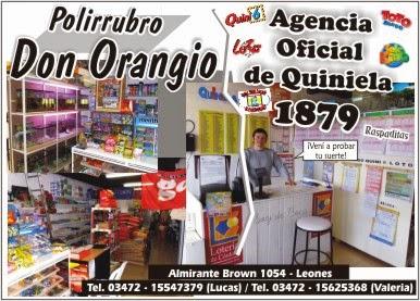 """""""Don Orangio"""" - Agencia Oficial 1879"""