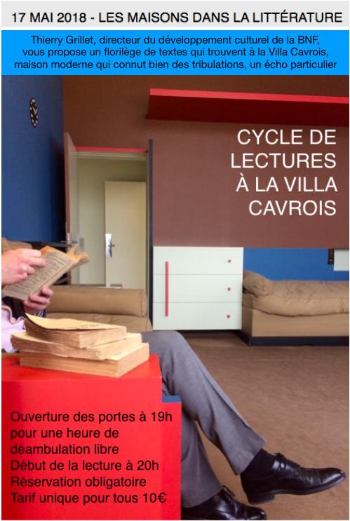 Lectures à la Villa Cavrois