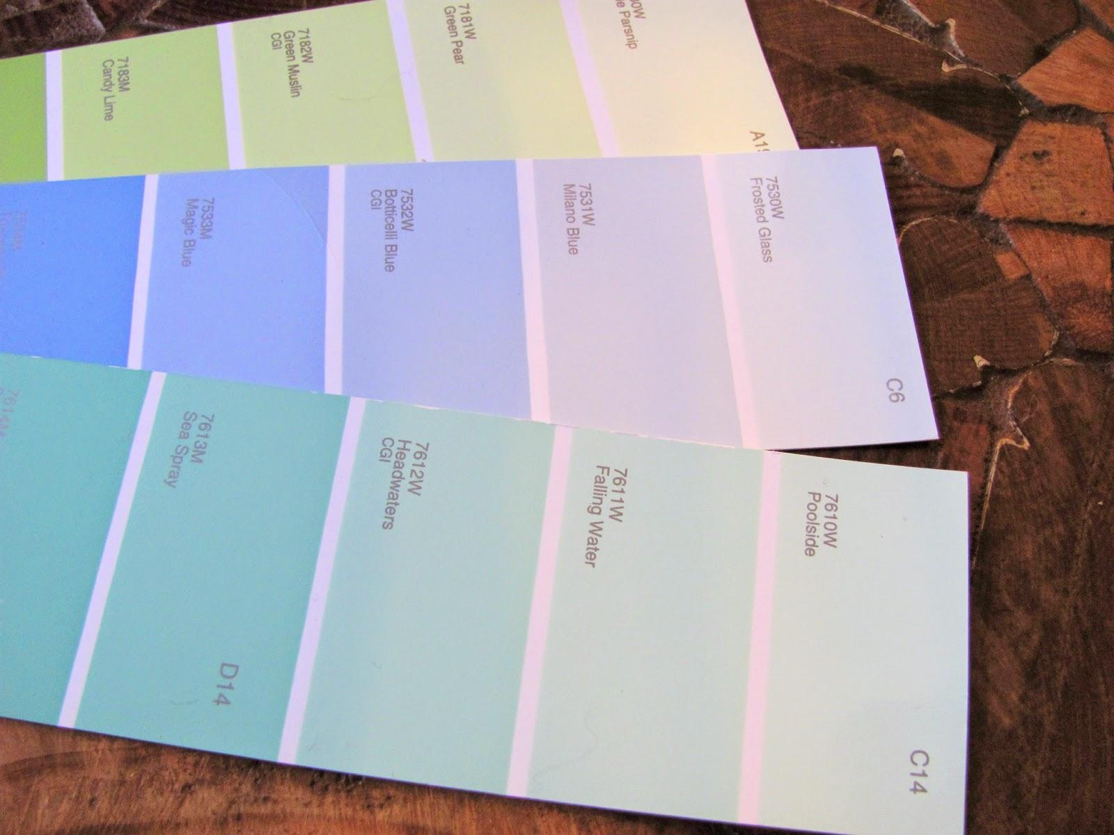 Fsn idea chevron en degrad con muestrarios de colores for Muestrario colores pintura