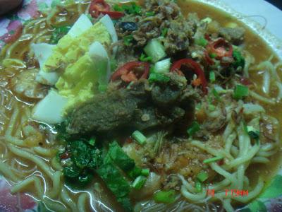 Resepi Mee Kuah Daging