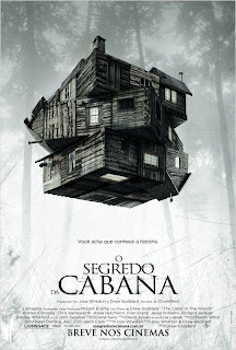 Pôster nacional e crítica de O SEGREDO DA CABANA (The Cabin in the Woods)