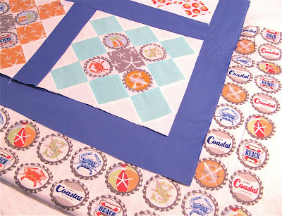 Quilt made from Going Coastal by Emily Herrick for Michael Miller