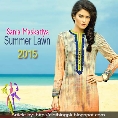 Sania Maskatiya summer Lawn Collection 2015 By Al-Karam