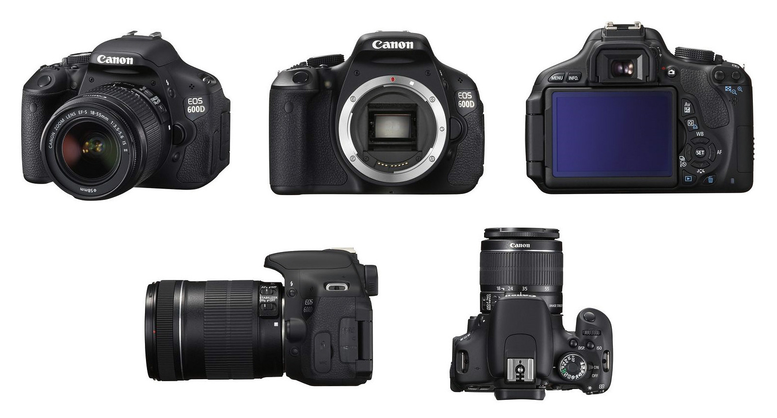 Canon EOS 600D Technical Specifications