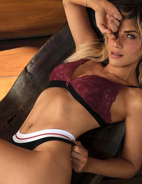 Giovanna Ewbank posa de lingerie e arranca elogios de famosos