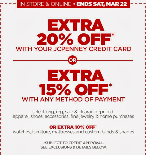JC Penney Store Coupons