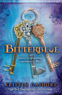 Cover image of Bitterblue by Kristin Cashore, a YA fantasy published by Dial (2012)