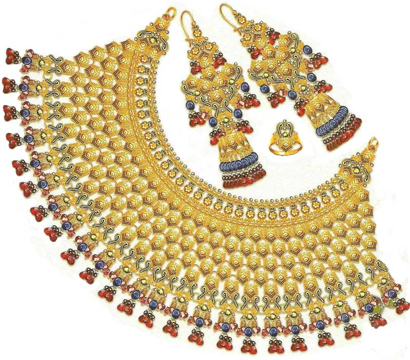 Latest Gold Jewellery For Ladies And Girls | vintagemuse5