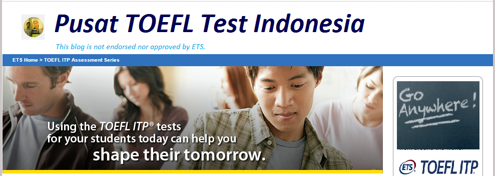 Pusat TOEFL Test Indonesia