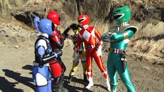 Hikōnin Sentai Akibaranger Season 2 Powerful Rangers Zyuranger Super Sentai Mighty Morphin