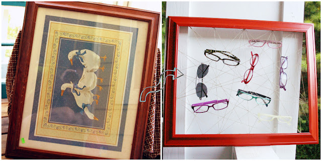 DIY, Frame Art, Glasses