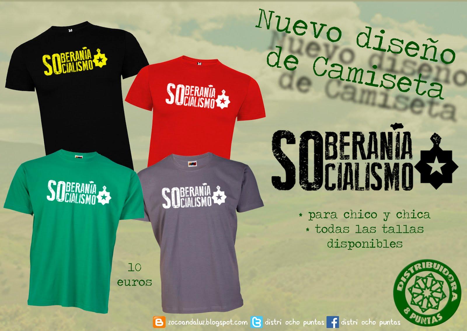 Camisetas Soberanía/Socialismo