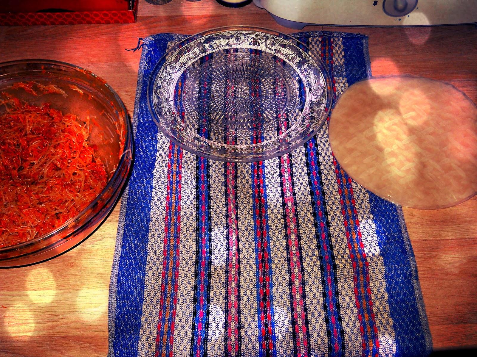 le boudoir des akhawettes nems halal maison la viande hach e. Black Bedroom Furniture Sets. Home Design Ideas