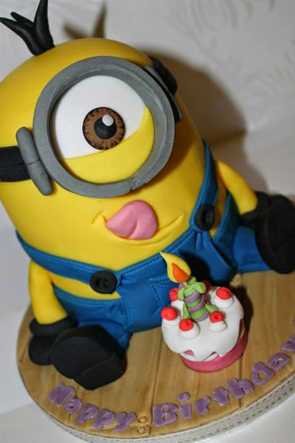 Minion, Desain Kue