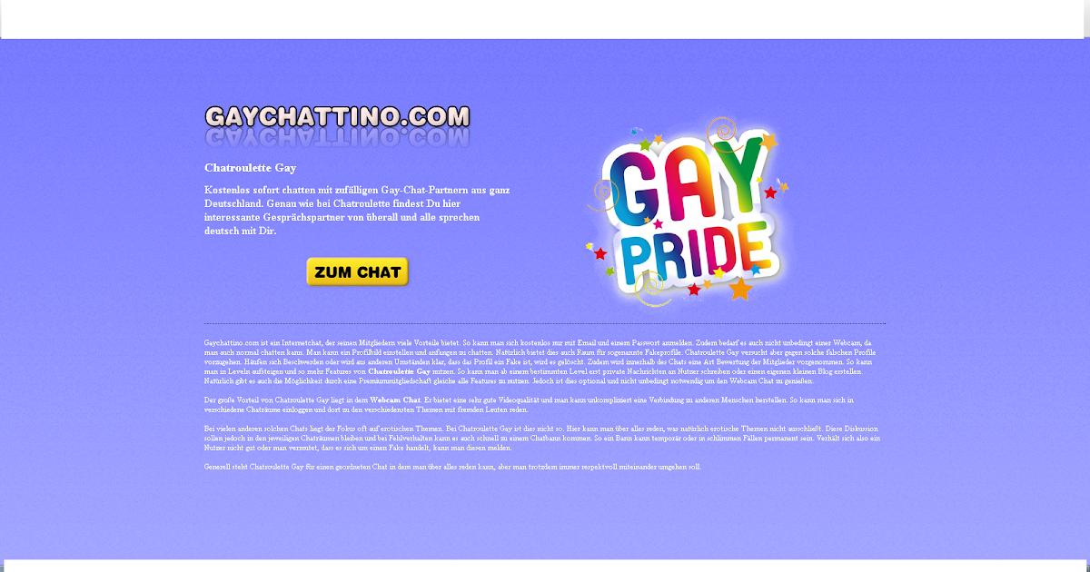 Chatroulette Gay: Gaychattino.com