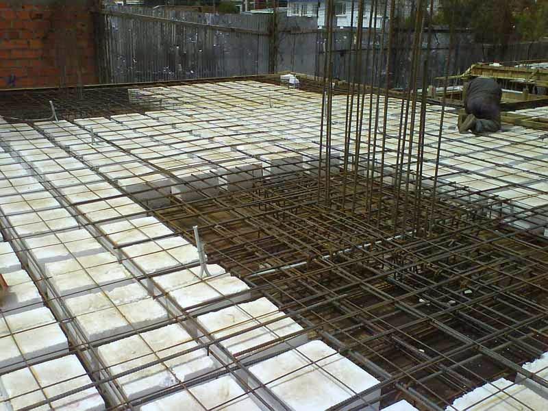 Construcción Losa en dos direcciones