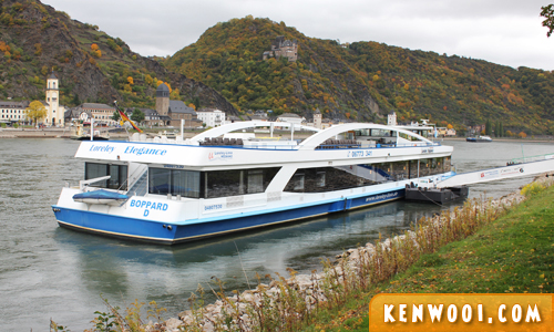 rhine valley riverboat cruise