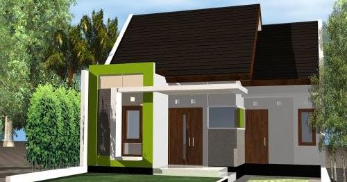 gambar desain denah rumah minimalis type 60 terbaru