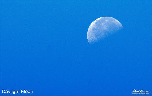 Kenapa Bulan Bisa Terlihat di Langit Siang?