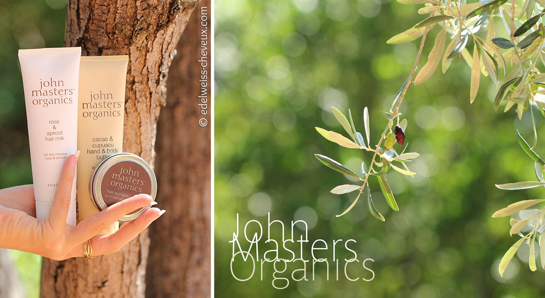 avis john masters organics ecocentric soins naturels cheveux