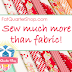 Finish Along Sponsor Highlight - Fat Quarter Shop