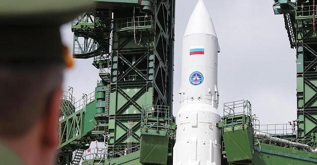Angara 1.2 rocket on the launch pad. Credit: Roscosmos/ILS