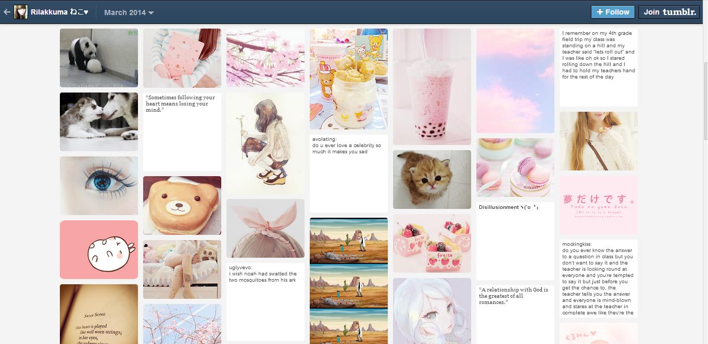 Tumblr feed