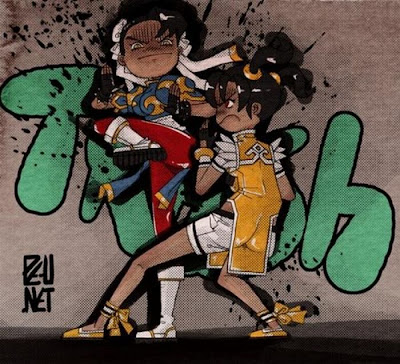 Street Fighter Graffiti Art Seen On www.coolpicturegallery.us
