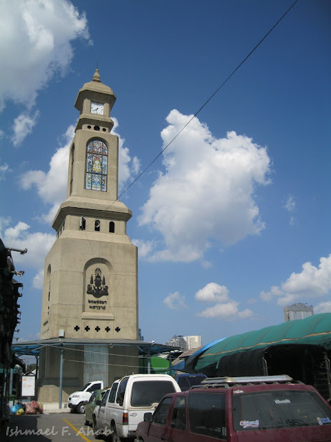 Clock tower of Chatuchak Weekend Market