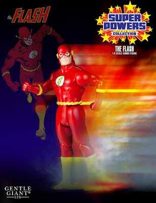 "The Flash DC Comics Super Powers Collection 12"" Jumbo Vintage Action Figure by Gentle Giant"