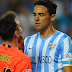 Barcelona vs Malaga 0-1 Highlights News 2015 Juanmi Goal