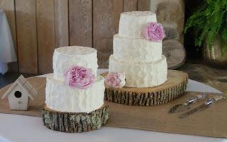 white wedding cake, groom's cake
