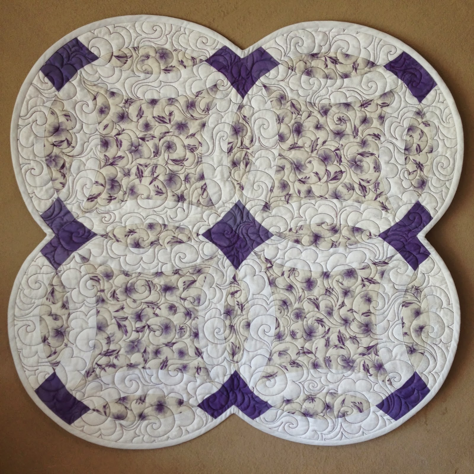 Sew Much Like Mom Double Wedding Ring Quilt Along Introduction