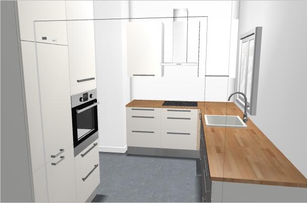 our very first apartment Moja kuchnia -> Szafki W Kuchni Do Sufitu Czy Nie