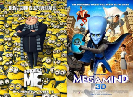 Despicable Me / Megamind (2010)