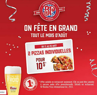 coupons et circulaires 2 10 pizza chez boston pizza. Black Bedroom Furniture Sets. Home Design Ideas