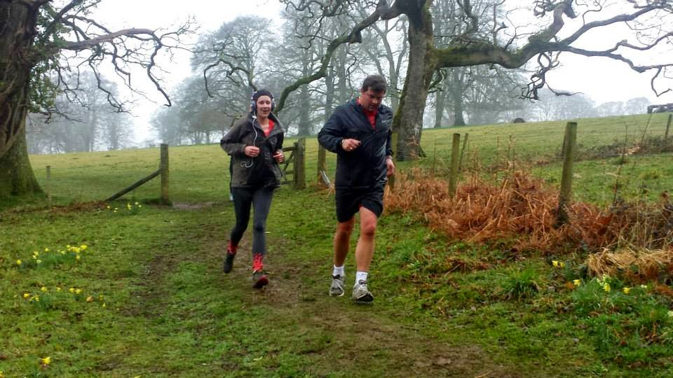 Lanhydrock Park Run in the Rain
