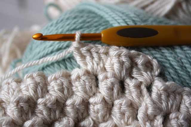 Knit Popcorn Stitch In The Round : How To Crochet a Heart: Popcorn Stitch Tutorial