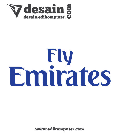 Download Logo Fly Emirates
