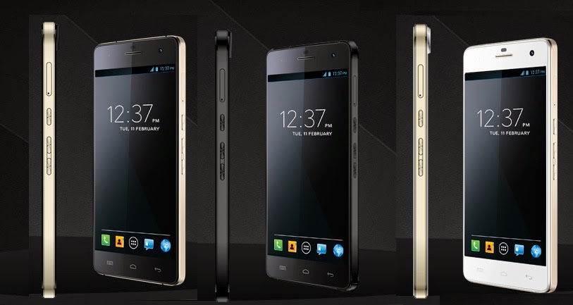 Micromax Canvas Knight - Black/Gold, Black and White/Gold