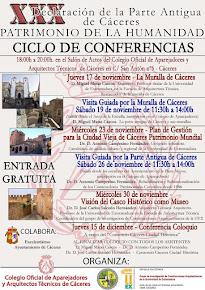 XXX ANIVERSARIO DE LA DECLARACIÓN DE CÁCERES PATRIMONIO DE LA HUMANIDAD