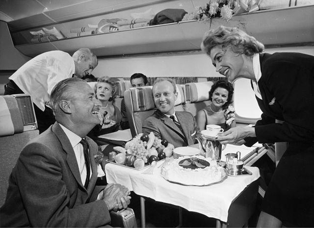 Douglas DC-8 interior 1957 - Vintage Aviation Photos - Gallery ...
