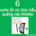 6 bước để tối ưu hóa banner quảng cáo trên điện thoại