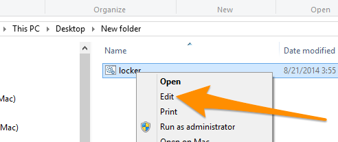 How to Create a Password Protected Folder