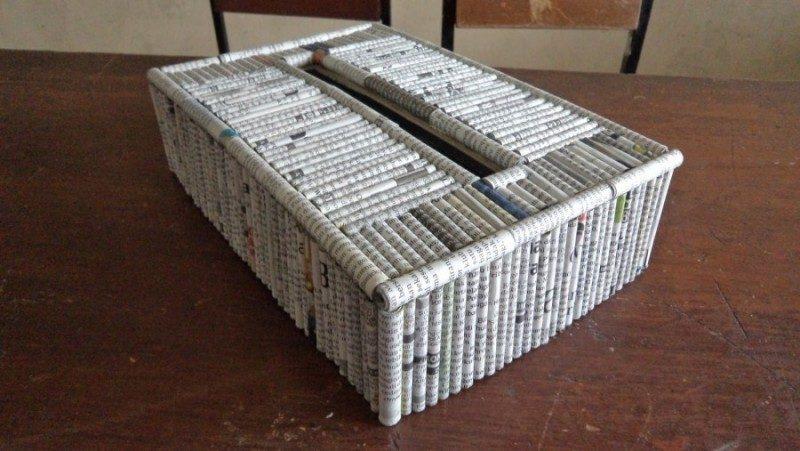 Tempat tisu pasti sangat dibutuhkan di rumah. Koran bekas yang berakhir di  bawah meja atau bahkan cuma menumpuk di gudang saja mungkin akan lebih  bernilai ... 36de27b3ef